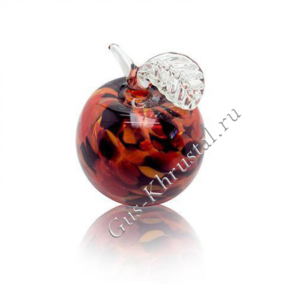 Сувенир Яблоко (красно-марганцевое)